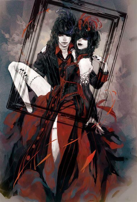 anime couple dark 282 best anime images on pinterest