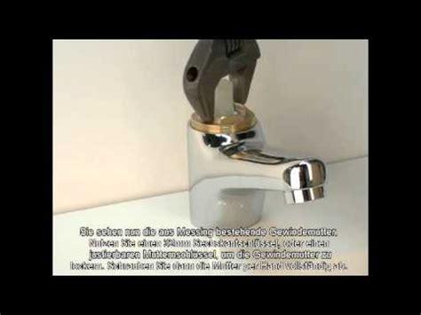 Einhebel Waschtisch Armatur Kartusche Auswechseln Youtube