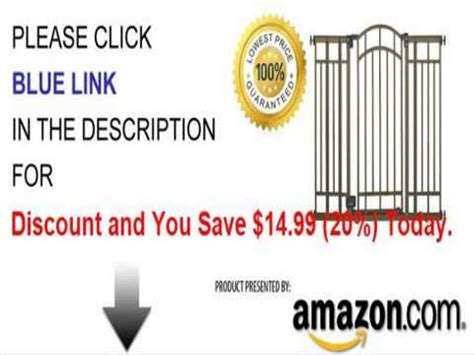 Summer Infant Decorative Extra Tall Gate by Summer Infant Extra Tall Decorative Walk Thru Gate Youtube