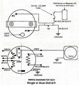rotax ducati ignition wiring diagram rotax aircraft With vdo rev counter wiring diagram
