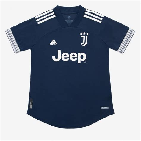 JUVENTUS AWAY AUTHENTIC JERSEY 2020/21 - WOMAN - Juventus ...
