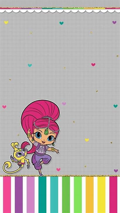 Shimmer Shine Backgrounds Wallpapers Cartoon Lockscreens Uploaded