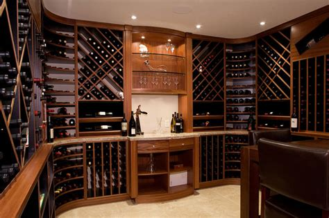 wine room feist cabinets and woodworks inc