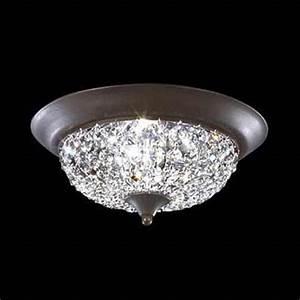 Crystal ceiling light fixtures flush mount images for Flush mount crystal ceiling light fixtures