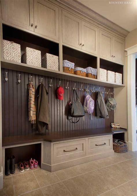 custom mudroom cabinets  ellicott city md kountry kraft