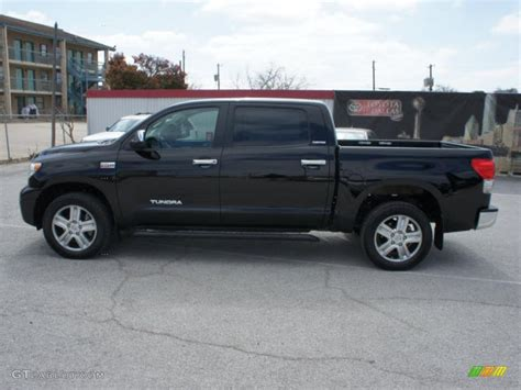 2008 Toyota Tundra Crewmax by Black 2008 Toyota Tundra Limited Crewmax 4x4 Exterior
