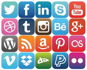 Social Media Rounded Icons – KillTheCan.org
