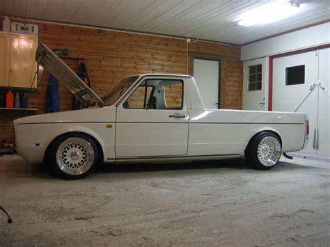 volkswagen rabbit truck custom volksagen caddy bbs rs zone