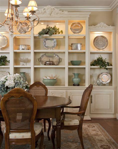 dining room built   display  storage