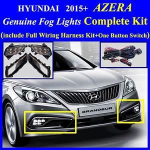 2015 Hyundai Azera Fog Light Lamp Complete Kit Wiring