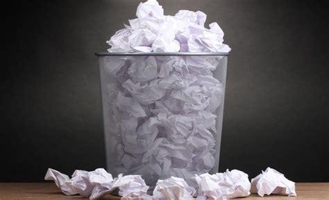 recyclage papier de bureau réduire l 39 impact de la consommation de papier des entreprises