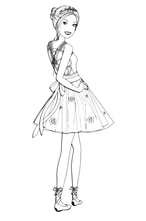 barbie barbie vestita da ballerina