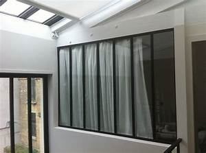 Verriere Atelier D Artiste : votre verri re d 39 int rieur yvelines concept metal system ~ Nature-et-papiers.com Idées de Décoration