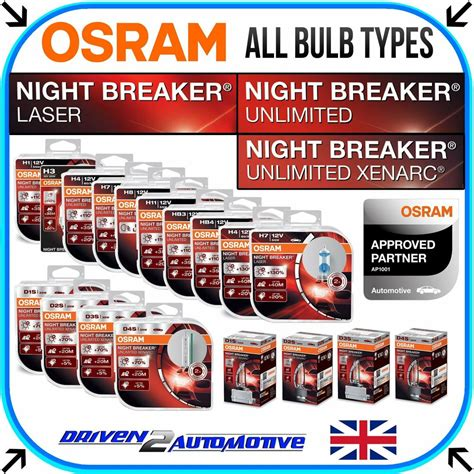 osram breaker unlimited h7 osram breaker unlimited laser all bulbs available here wholesale price ebay