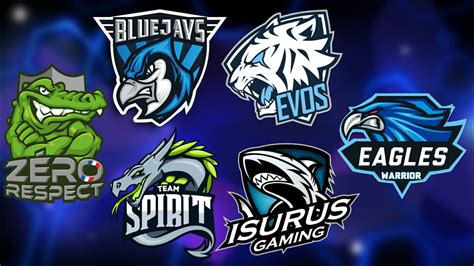 membuat logo esport gaming  android