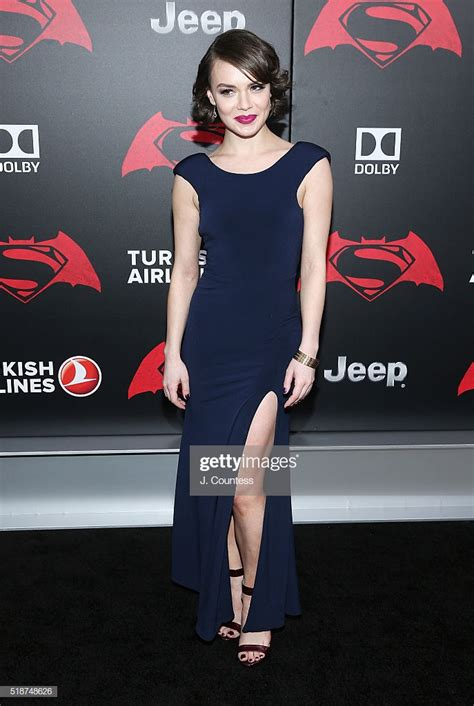 actress abbi snee attends the batman v superman dawn of justice news photo getty images