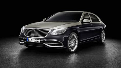 luxury mercedes 2019 mercedes maybach s class doubles down on luxury