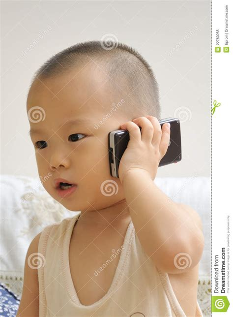 baby   call stock image image  talking portrait