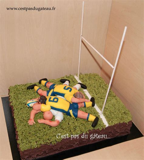 rugby de bureau d cor g teau rugby