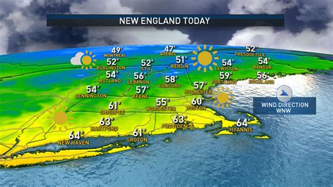 Cool Air Ahead of Weekend Warm-Up – NBC Boston