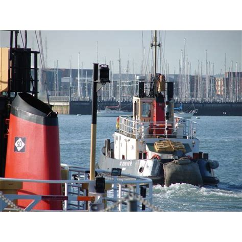 Tugboat Deckhand by On Tug Boats Captain And Tugboat Mate