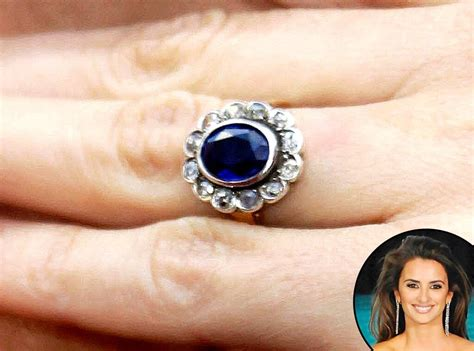 penelope cruz from truly unique celebrity engagement rings