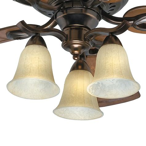 light fixture for hunter ceiling fan 52 quot hunter ceiling fan bronze patina finish 3 light