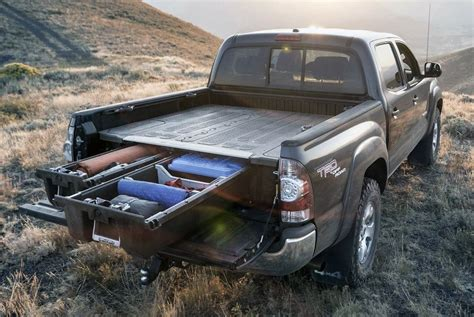 decked 174 toyota tacoma 2011 midsize truck bed storage system
