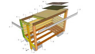 free cabin blueprints firewood shed plans storage shed plans your helpful