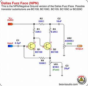Fuzz Face Npn And Pnp