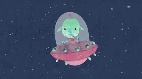 On My Way Space Gif By Tillpenzek