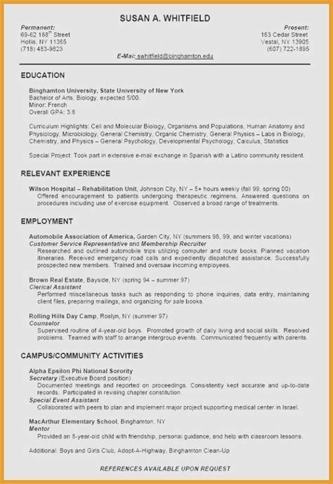 Give Me An Exle Of A Resume 19 best of show me a resume maotme