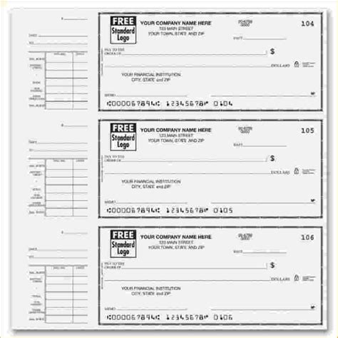 Free Check Stub Template Printables by Free Fillable Payroll Stubs Autos Post