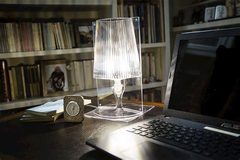 tavolo trasparente kartell kartell lada da tavolo take trasparente acquista su