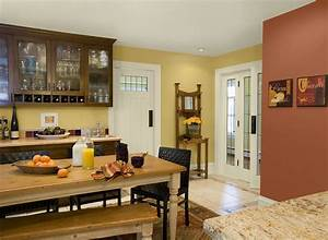 kitchen color ideas inspiration yellow kitchen paint With kitchen colors with white cabinets with art for dining room wall