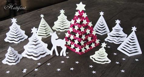 Hattifant's 3d Paper Christmas Trees Christmas Gift For A Boy Gifts Girl Teenager Ideas Boyfriends Parents At Fair Hickory Farms Baskets Box Decorations Diy Best Dads