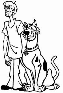 coloring pages of scooby doo - scooby doo coloring pages the sun flower pages