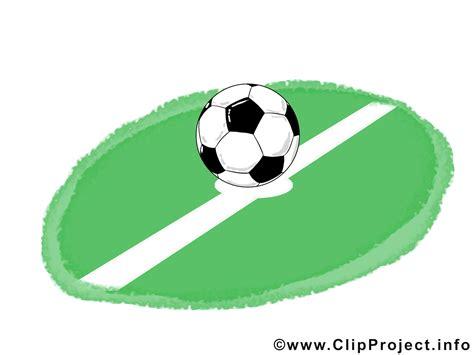 www clipart fussball auf dem fussballfeld clipart bild illustration