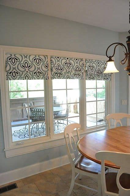 roman blinds   window recess great pattern roman blind pinterest roman blinds  roman