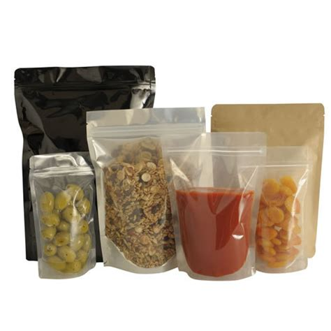 stand  pouch   sealed plastic bag   designed  stand upright doypack  stands