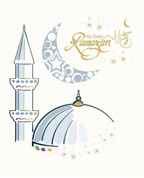 hos geldin   ramadan crafts ramadan poster