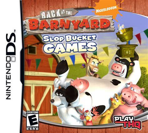 Back At The Barnyard Slop Bucket Games Ign
