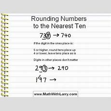 Video For Lesson 12 Rounding Numbers To The Nearest Ten Youtube