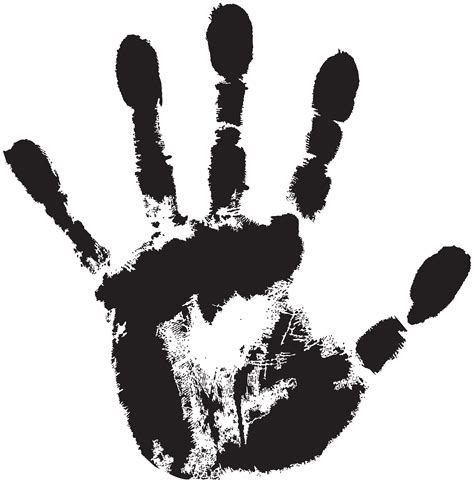 handprint transparent png clip art image gallery yopriceville high