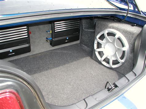 scosche subwoofer questions  mustang source ford