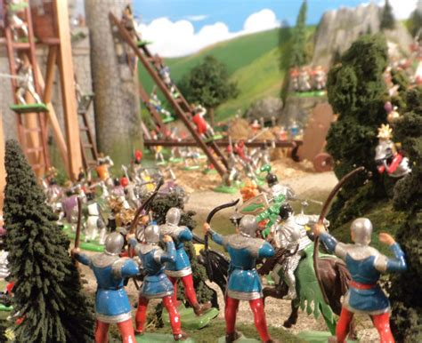 siege fortress castle siege diorama marksdioramas com