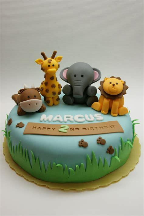 beautiful kitchen safari animal cake  marcuss