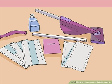 The Easiest Way to Assemble a Swiffer WetJet   wikiHow