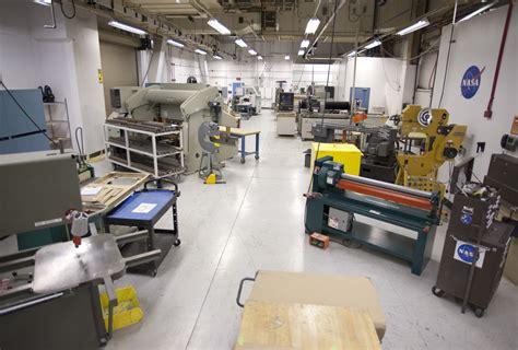 building 703 fabrication shop nasa