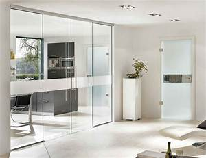 Office, Glass, Door, Design